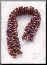 Mill Hill Jewelry Kits MHTLB4 Treasured Lace Bracelets 2003 ~ Jeweled Wildberry