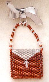 Mill Hill Jewelry Kits MHLPP3 La Petite Purse Pins 2004 ~ La Ginger Ice