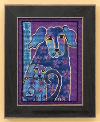 Mill Hill Laurel Burch Kits LB301624 Bloomingtails ~ 14 Count Aida