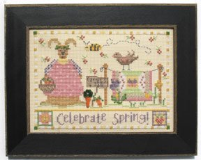 Mill Hill Monthly/Bi-Monthly Kits MH248003 Calendar Series 2008 ~ March ~ Celebrate Spring