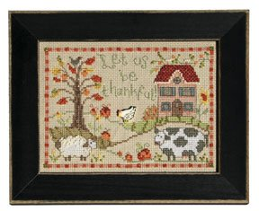 Mill Hill Monthly/Bi-Monthly Kits MH248011 Calendar Series 2008 ~ November ~ Let Us Be Thankful