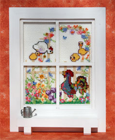 Mill Hill Monthly/Bi-Monthly Kits MH266003 Windowpanes 2006 ~ May/June