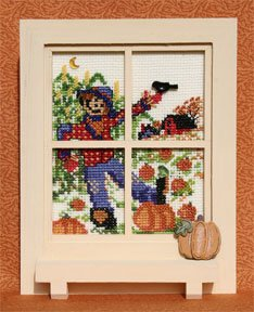 Mill Hill Monthly/Bi-Monthly Kits MH266005 Windowpanes 2006 ~ September/October