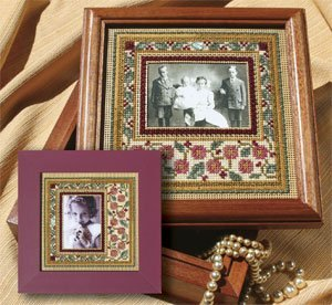 Mill Hill Monthly/Bi-Monthly Kits MH269001 Picture This Series 2009 ~ Everyday Frame