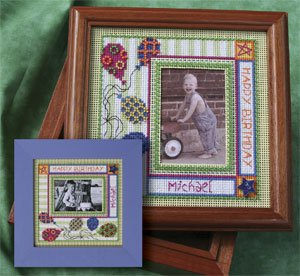 Mill Hill Monthly/Bi-Monthly Kits MH269002 Picture This Series 2009 ~ Celebration Frame