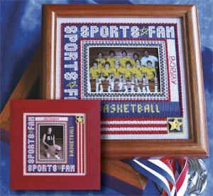 Mill Hill Monthly/Bi-Monthly Kits MH269004 Picture This Series 2009 ~ Sports Fan Frame