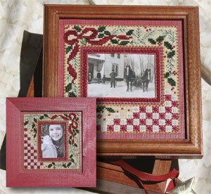 Mill Hill Monthly/Bi-Monthly Kits MH269006 Picture This Series 2009 ~ Holiday Frame