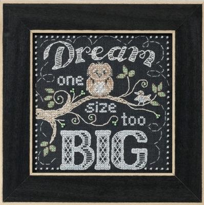 Mill Hill Quartet Kits MH171611 Chalkboard 2016 ~ Dream Big