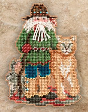 Mill Hill Santa Ornament Kits MH201302 Southwest Santas 2011 ~ Canyon Santa