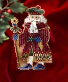 Mill Hill Santa Ornament Kits MH206302 Medieval Santas 2006 ~ Avignon Santa