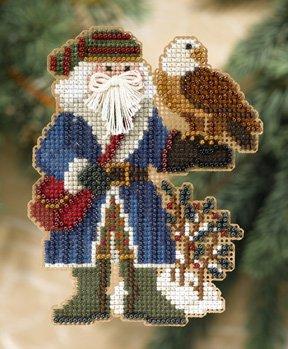 Mill Hill Santa Ornament Kits MH208301 Rocky Mountain Santas 2008 ~ Pikes Peak Santa