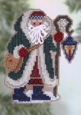 Mill Hill Santa Ornament Kits MHPS21 Polar Santas 2005 ~ Glacier Santa