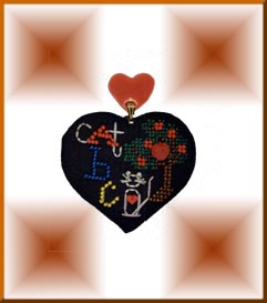 Mill Hill Special Edition Kits MHHC9 Heartful Charms Cat ABC