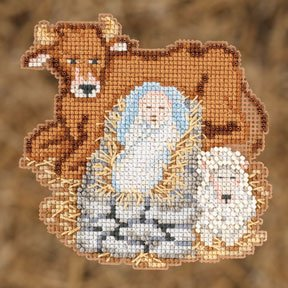 Mill Hill Trilogy Ornament Kits MH192301 Nativity Trilogy 2012 ~ Baby Jesus