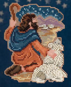 Mill Hill Trilogy Ornament Kits MH193302 Nativity Trilogy 2013 ~ Benjamin