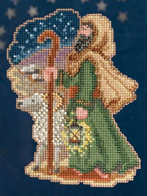Mill Hill Trilogy Ornament Kits MH193303 Nativity Trilogy 2013 ~ Luke