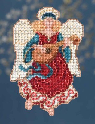 Mill Hill Trilogy Ornament Kits MH194301 Angel Trilogy 2014 ~ Angelina