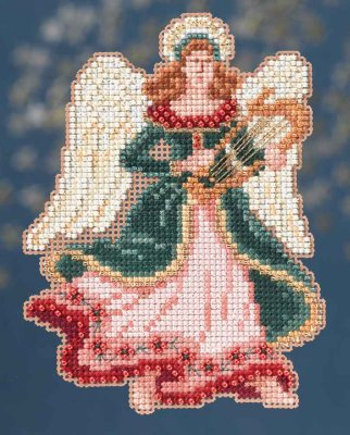 Mill Hill Trilogy Ornament Kits MH194302 Angel Trilogy 2014 ~ Gabrielle