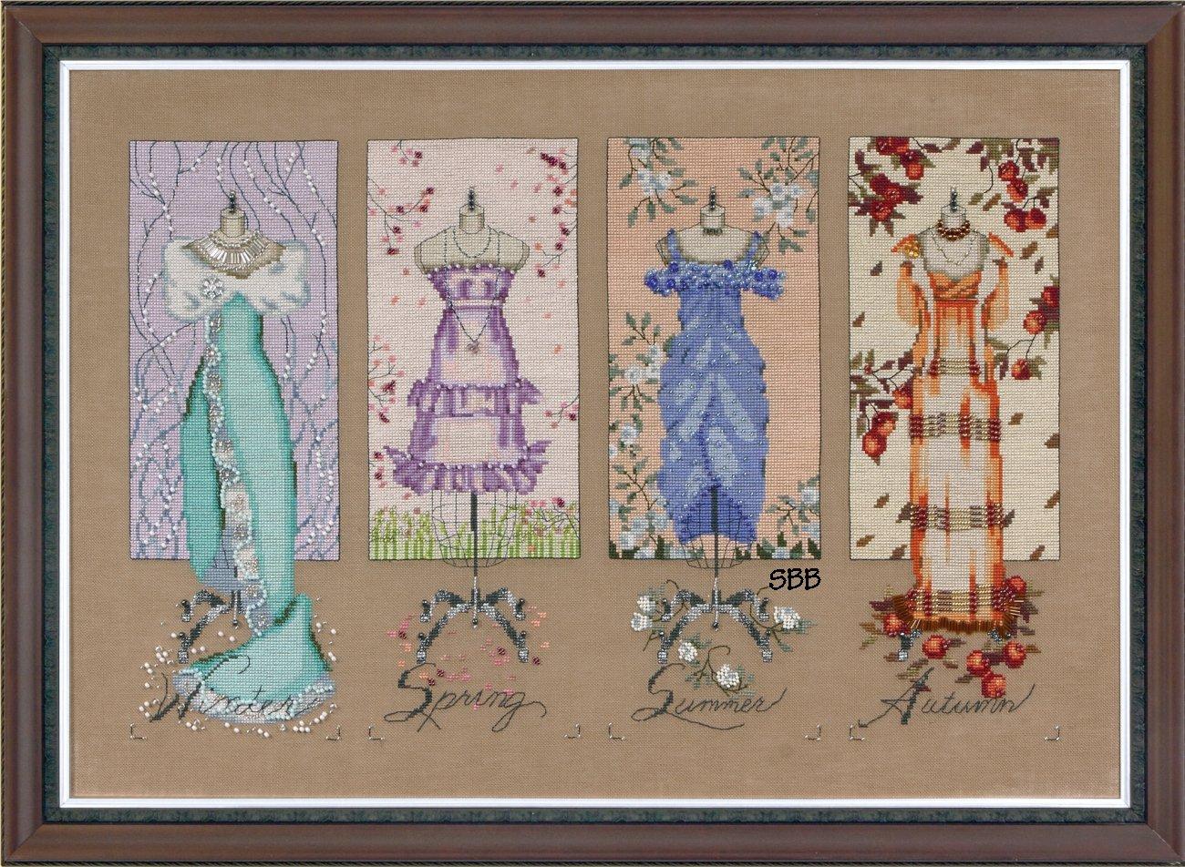 Mirabilia  #MD121 Dressmaker's Daughter