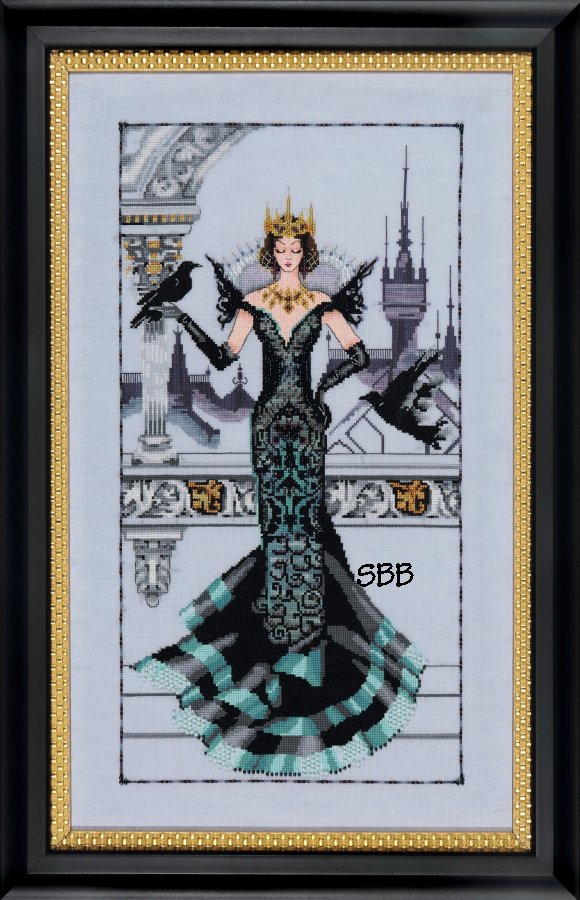 Mirabilia  #MD139 The Raven Queen