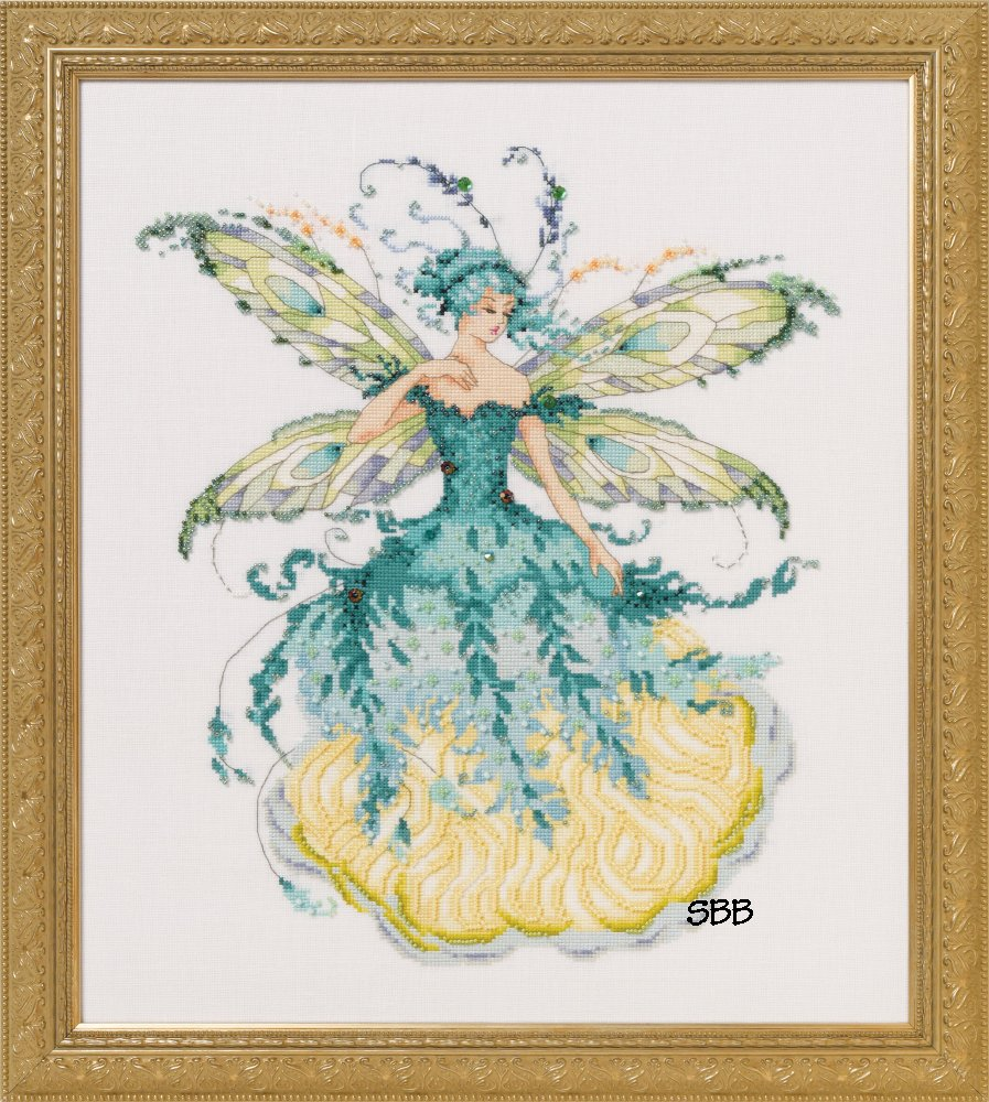 Mirabilia  #MD159 March Aquamarine Fairy
