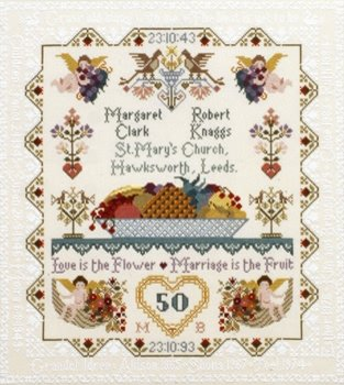 Moira Blackburn Anniversary/Wedding Sampler
