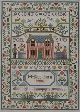 Moira Blackburn Country Cottage Sampler