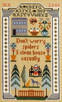 Moira Blackburn Don't Worry Spiders