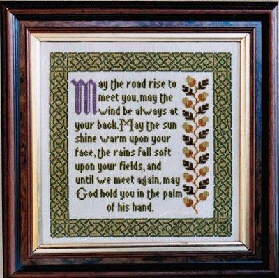 Moira Blackburn Irish Blessing Sampler
