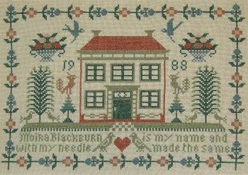 Moira Blackburn Red Roof House Sampler