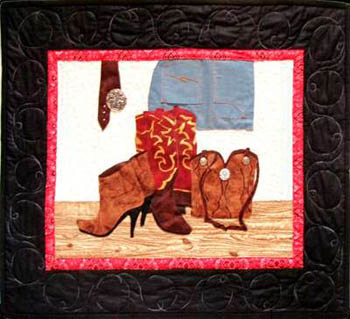 More The Merrier Designs Cowgirl Accessories Quilting
