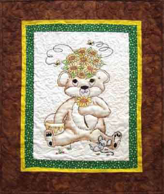 More The Merrier Designs Honey Bear Quilting