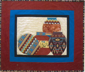 More The Merrier Designs Southwest Clay Pots Quilting