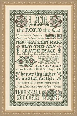 My Big Toe Designs10 Commandments