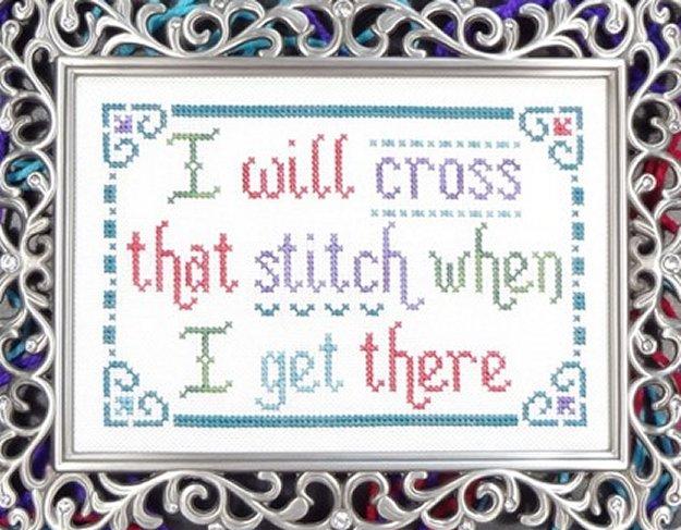 My Big Toe Designs Cross That Stitch