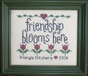 My Big Toe Designs Friendship Blooms Here