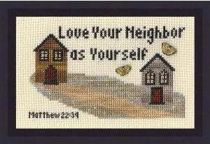 My Big Toe Designs Love Your Neighbor