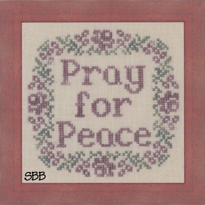 My Big Toe DesignsPray For Peace