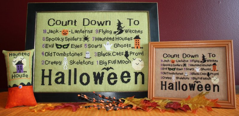 Needle Bling Designs Countdown To Halloween