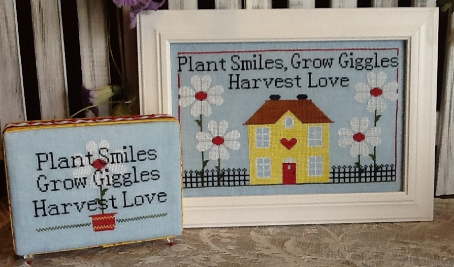 Needle Bling Designs Grow Giggles
