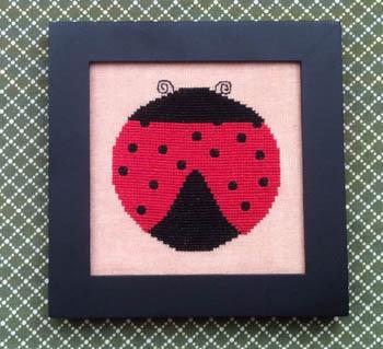 Needle Bling Designs Home Decor ~ May Ladybug