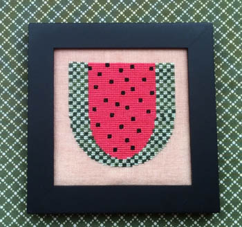 Needle Bling Designs Home Decor ~ June Watermelon