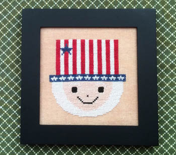 Needle Bling Designs Home Decor ~ July Uncle Sam