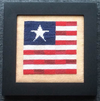 Needle Bling Designs Home Decor ~ September Flag