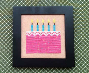 Needle Bling Designs Home Decor ~ Birthday Cake