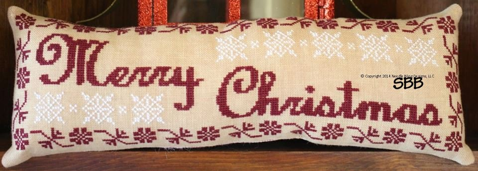 Needle Bling Designs Old Fashioned Merry Christmas