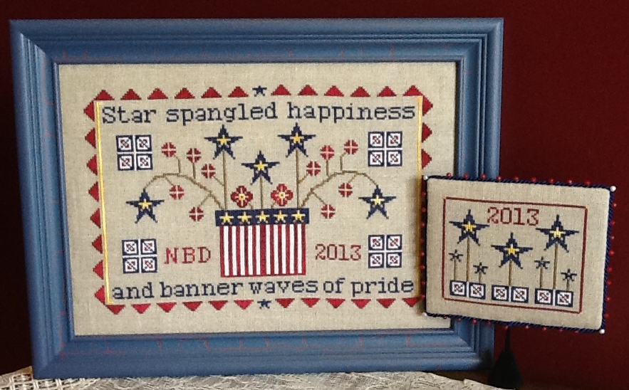 Needle Bling Designs Spangled Happiness