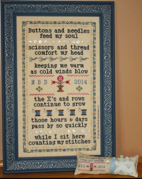 Needle Bling Designs Stitching Comforts