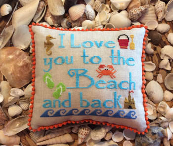 Needle Bling Designs  To The Beach & Back