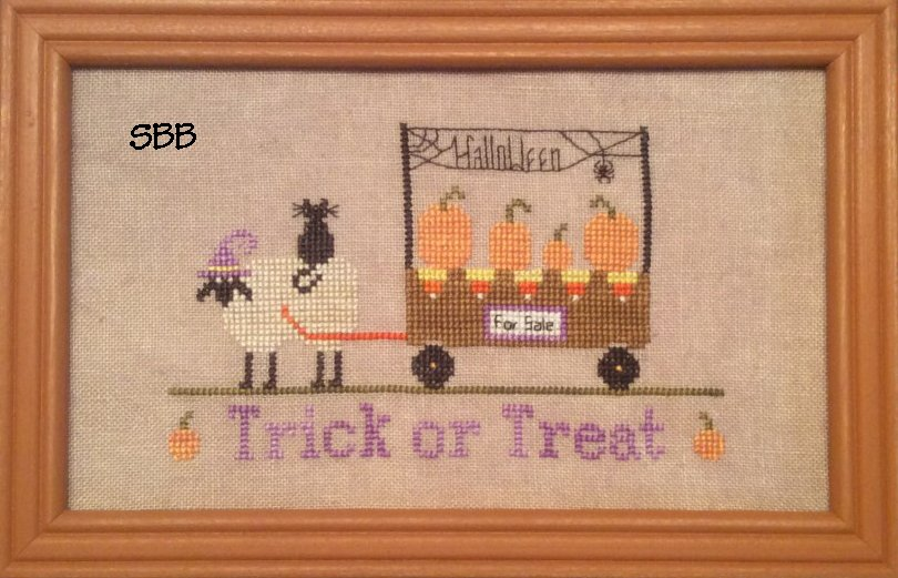 Needle Bling Designs Trick Or Treat (16-2023)